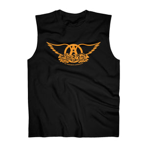 Sweet Emotion . Orange Logo . Men's Ultra Cotton Sleeveless Tank