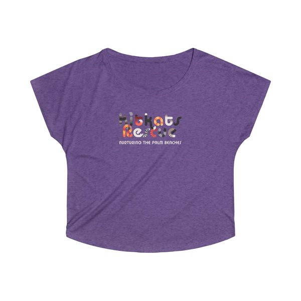 KitKats Rescue . Color Logo . Women's Dolman