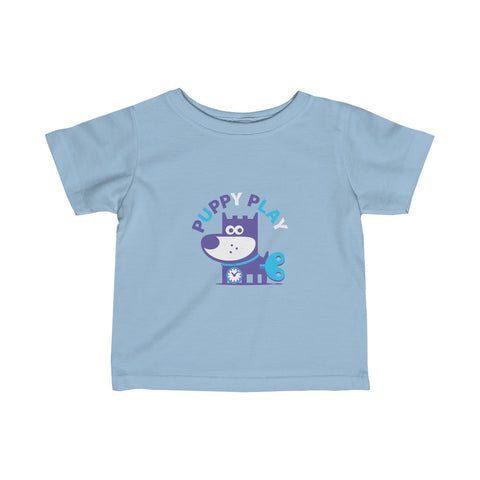 Puppy Play II . Infant Fine Jersey Tee