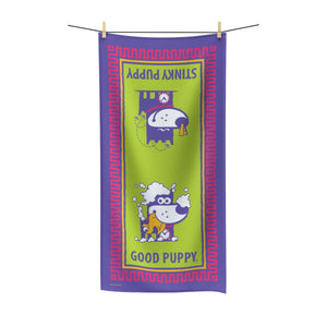 Good Puppy Bath II . Polycotton Towel