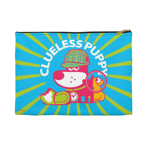 Clueless Puppy . Accessory Pouch