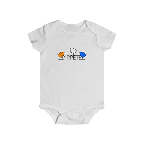 Free Birds . Sanderling Shorebirds . Infant Rip Snap Tee . PIPPETE . Free Birds
