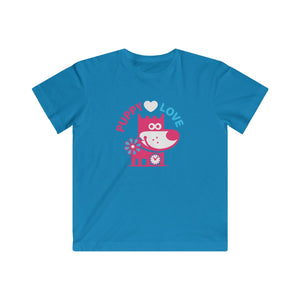 Puppy Love III . Kids Fine Jersey Tee