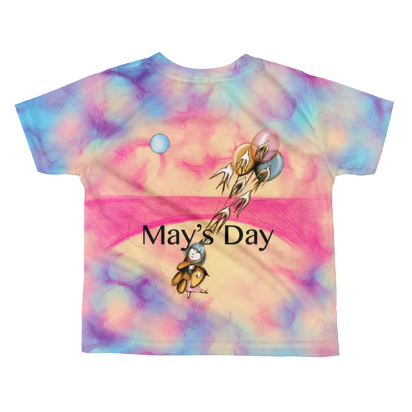 May's Day . Rise . Kids' T-Shirt . All Over Print
