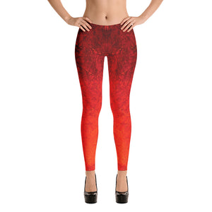 Unique Women's Leggings, Marina Di Meta, George's Dragon