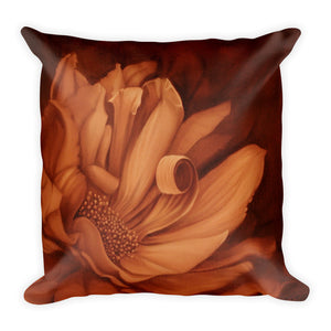 MARINA DI META . Light Vessels . Desire . Square Pillow