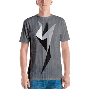 PLANE-T . Messenger . Manifestation . Men's T-Shirt . Crew Neck . All Over Pre-Cut Print
