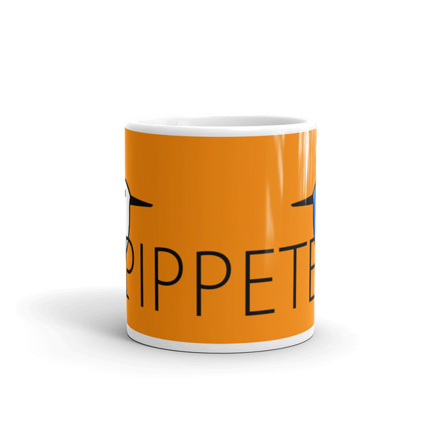 PIPPETE . Duo . Mug . 11 oz . Orange