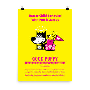 Good Puppy System Practice Promo Poster I . 18x24