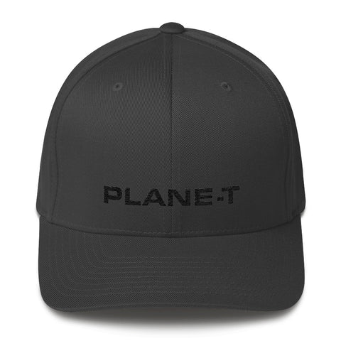 Unisex Gifts . PLANE-T . Baseball Cap . Dark Grey