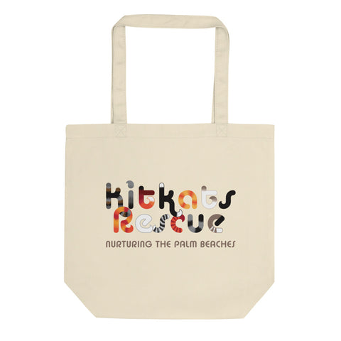 KitKats Rescue . Color Logo . Eco Tote Bag