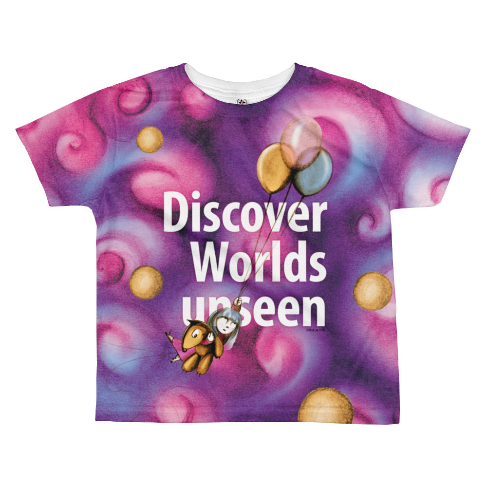 May's Day . Discover . Kids' T-Shirt . All Over Print