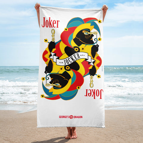 STACK THE DECK . Joker . Towel