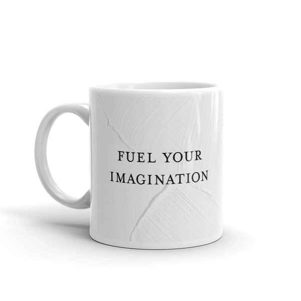 TJH . Fuel Your Imagination . Mug