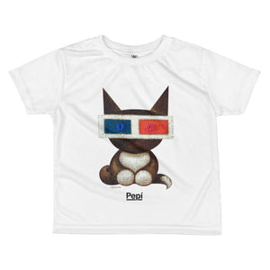 PEPI . Polarity . Maya . Kids' T-Shirt . All Over Print . White