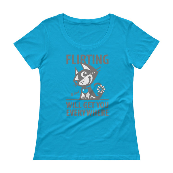 Funny Cat T-Shirt, Unique Tee, Betty Bad Kitty