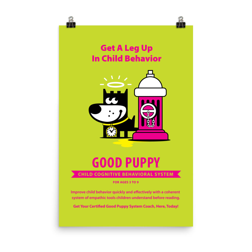 Good Puppy System Practice Promo Poster VI . 24x36