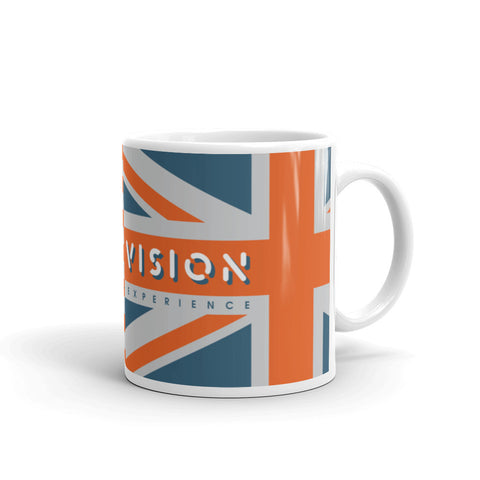Double Vision . Orange Flags . Mug