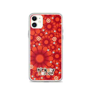 KitKats Rescue . Red Flower Bed . iPhone Case