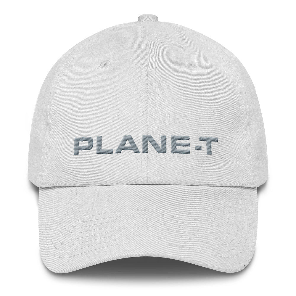 PLANE-T . Baseball Cap . Unstructured . White