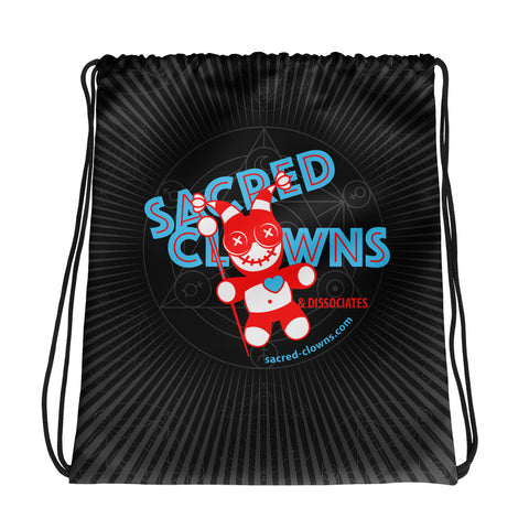 Logo . Drawstring Bag . Black
