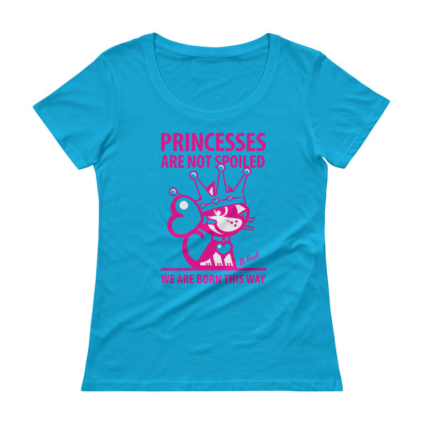 BETTY BAD KITTY . Princess . Magenta Print . Women's T-Shirt
