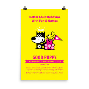 Good Puppy System Practice Promo Poster I . 24x36