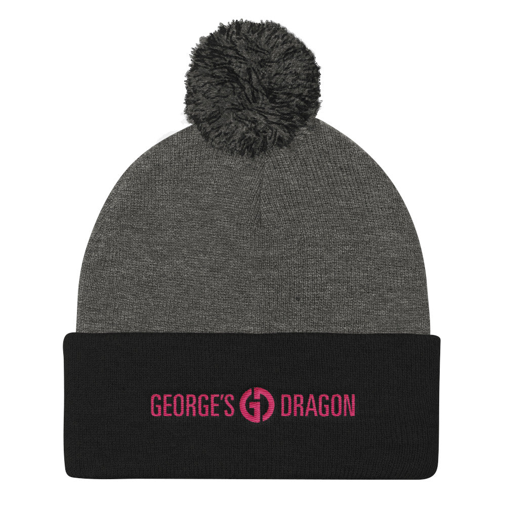 GEORGE'S DRAGON . Knit Pom Pom Hat