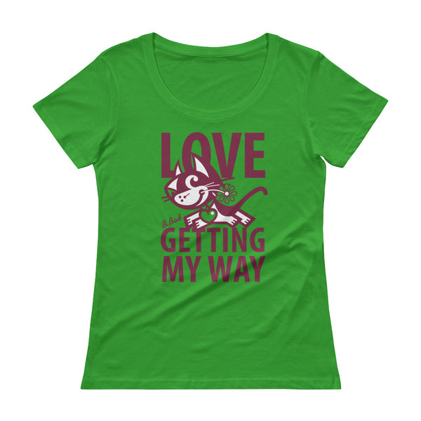Love . Raspberry Print . Women's T-Shirt