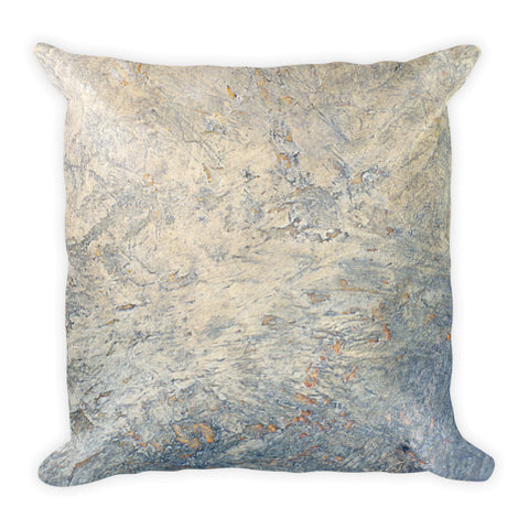 MARINA DI META . Light Vessels . Above . Square Pillow