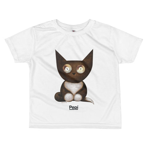 Hermes Don Diego de la Vega . Kids' T-Shirt . White