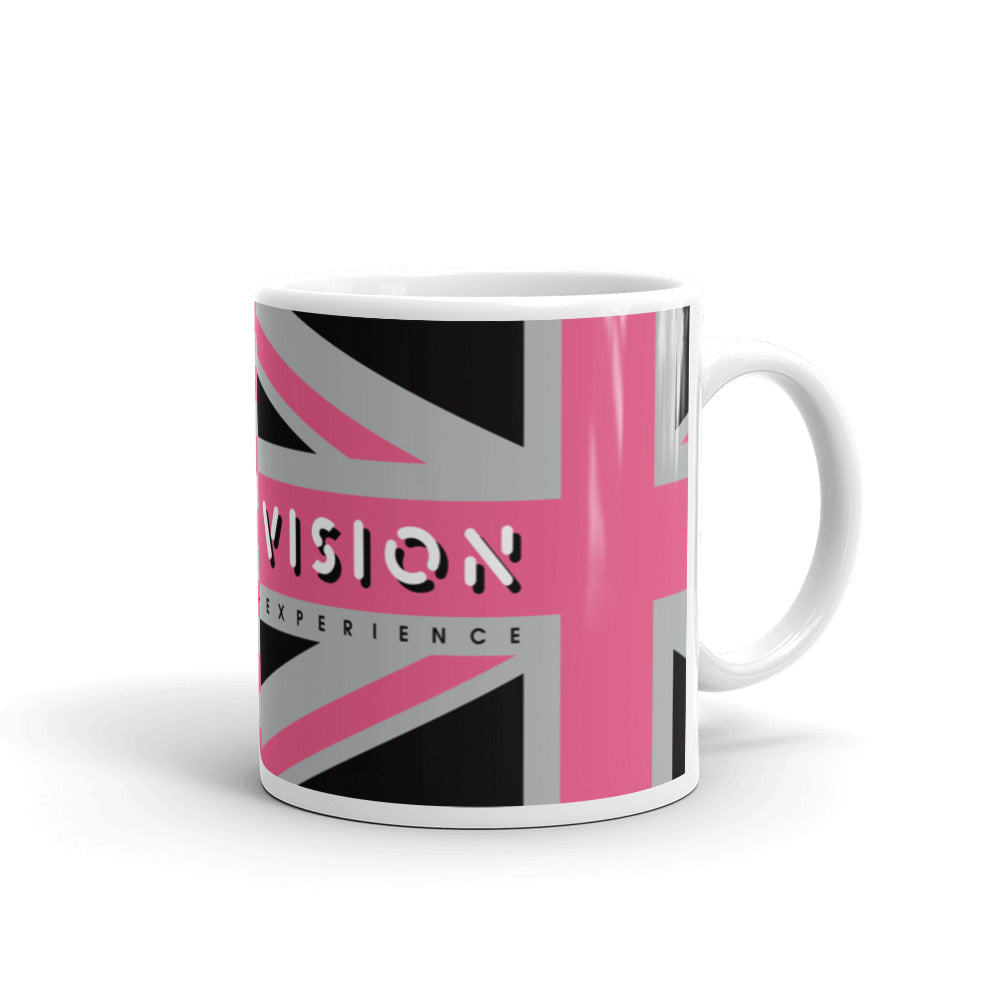 Double Vision . Pink Flags . Mug