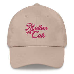 Mother Of Cats . Pink . Dad Hat