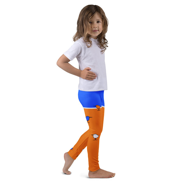 PIPPETE . Beach . Kids' Leggings . All Over Print