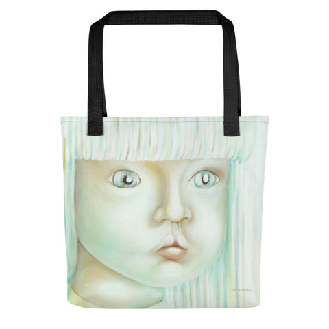 Light Vessels . Influx . Weather-Resistant Tote Bag