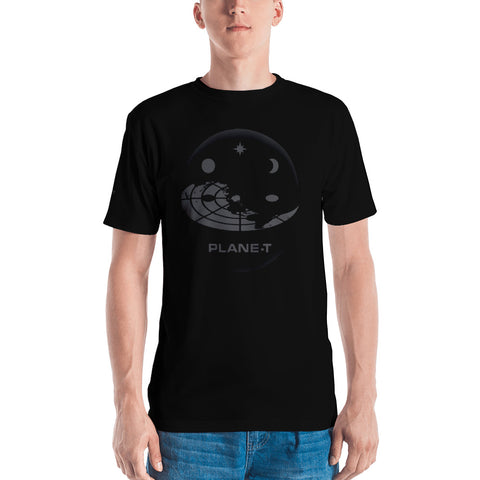 PLANE-T . Sphere . Men's T-Shirt . Crew Neck . All Over Pre-Cut Print