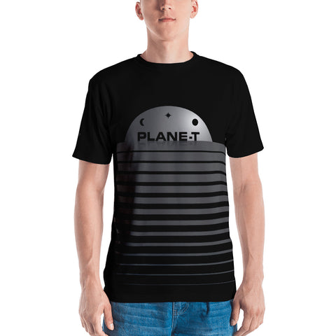 PLANE-T . Dome . Men's T-Shirt . Crew Neck . All Over Pre-Cut Print