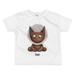 Apollo Lucky Louie . Kids' T-Shirt . White