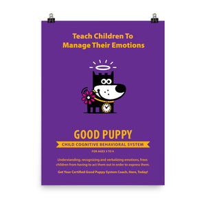 Good Puppy System Practice Promo Poster IV . 18x24