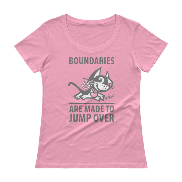 Women's Tee, Funny Cat Tee, Betty Bad Kitty