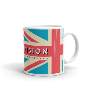Double Vision . Blue Flags . Mug