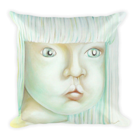 MARINA DI META . Light Vessels . Influx . Square Pillow