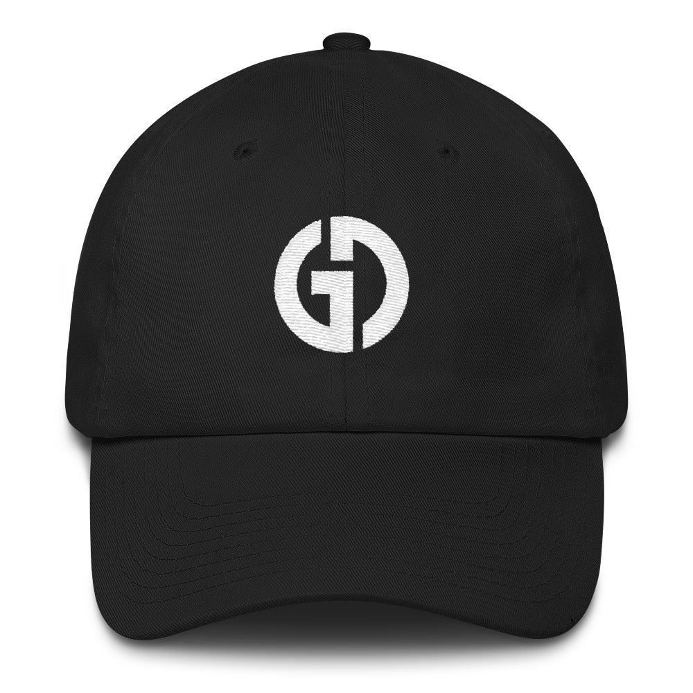 Logo . Unstructured Baseball Cap . Black