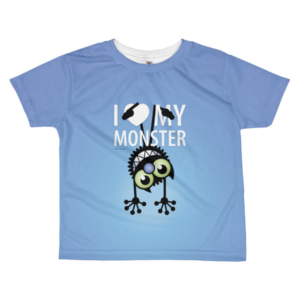 Chloe's Little Secret . Hanging Monster . Kids' T-Shirt . All Over Print