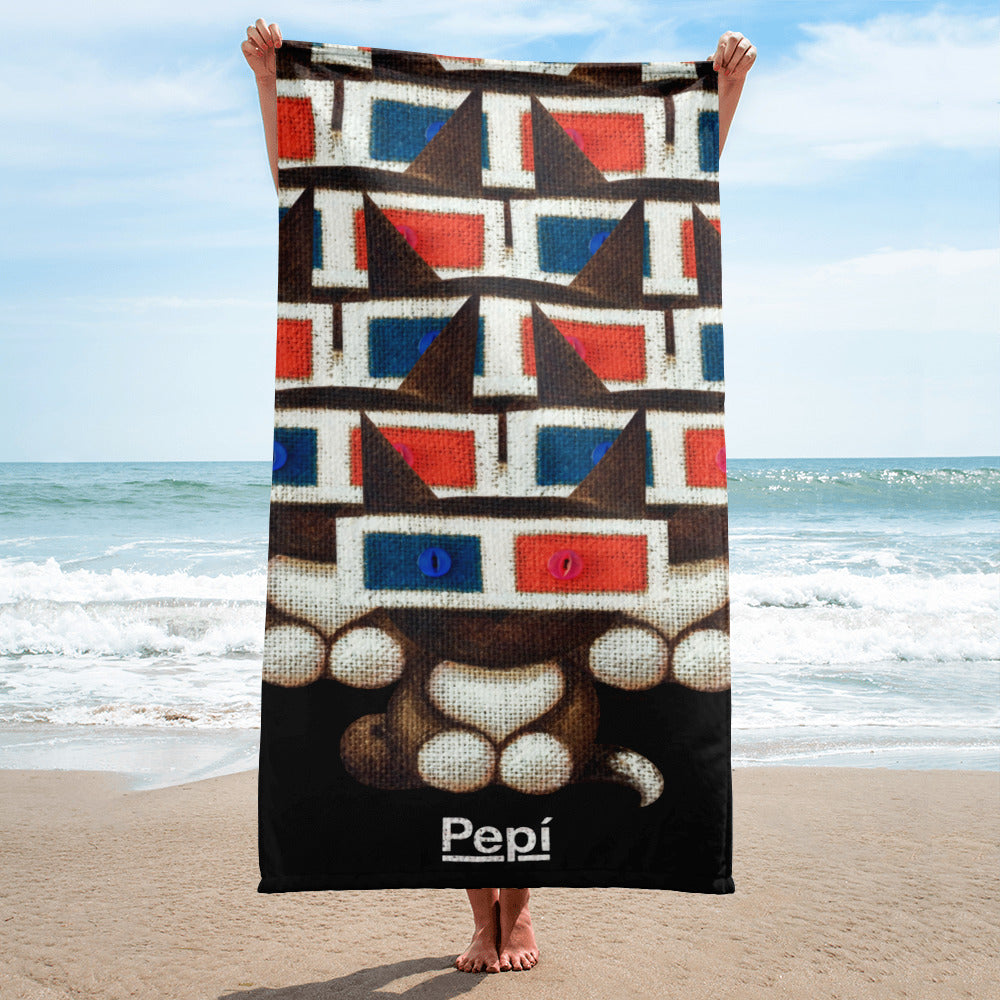PEPI . Polarity . Maya . Towel