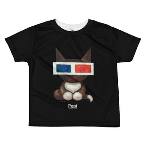 Polarity Maya . Kids' T-Shirt . Black