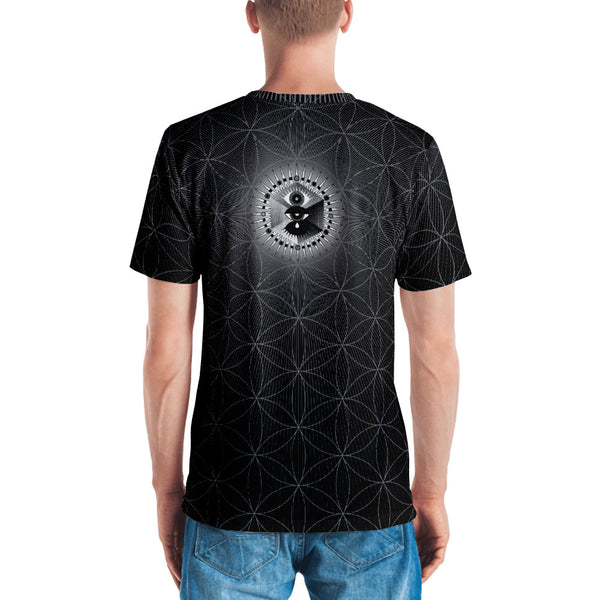 Metatron . Illumination . Men's T-Shirt . Crew Neck . Gift . PLANE-T . Meta