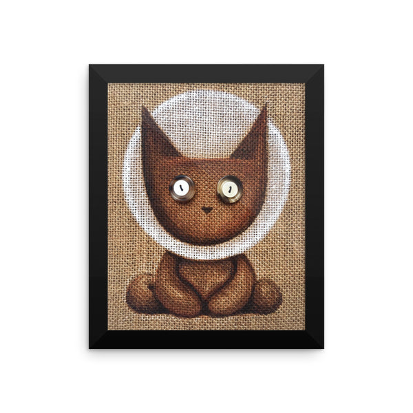 Apollo Lucky Louie . Framed Matte Print