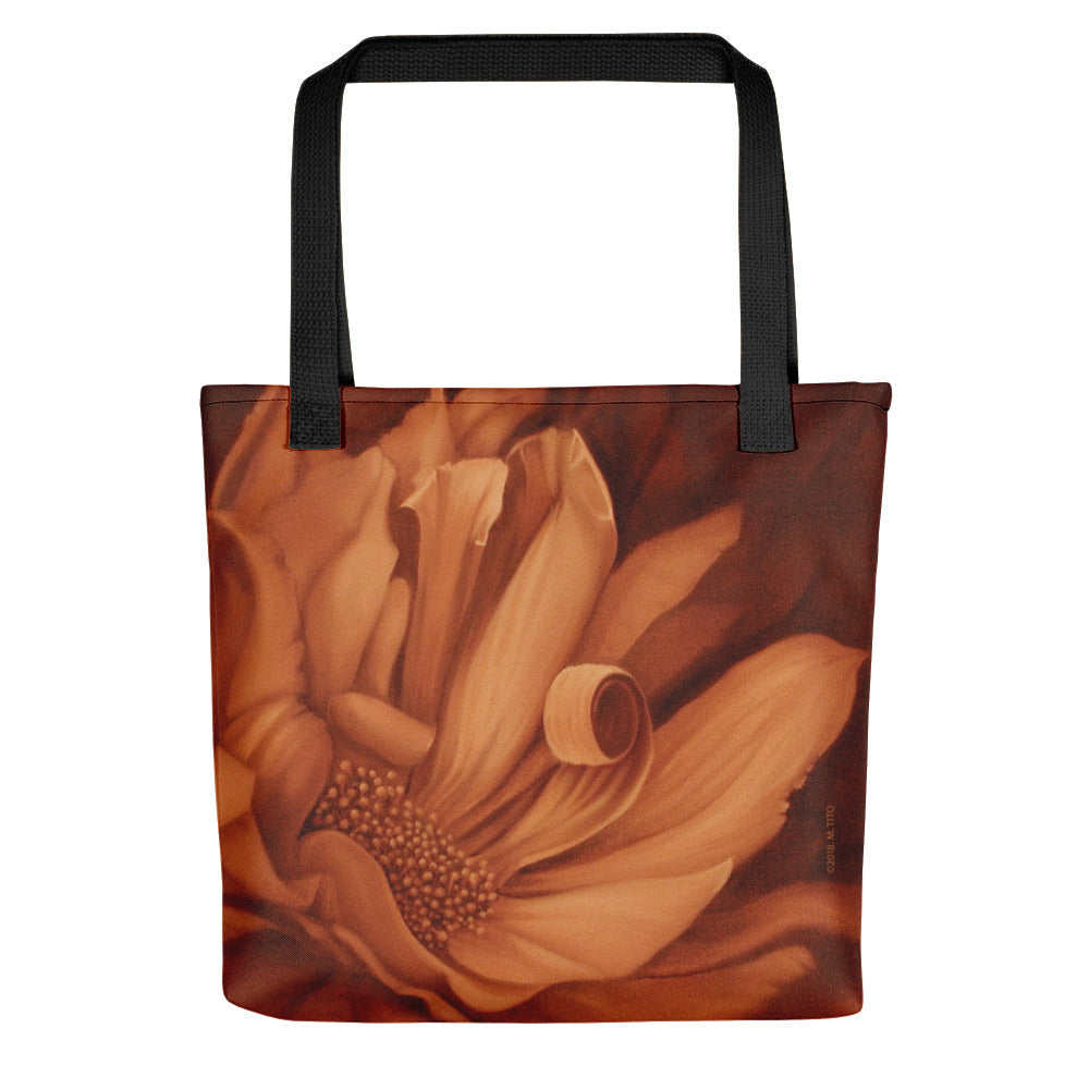 MARINA DI META . Light Vessels . Desire . Weather-Resistant Tote Bag