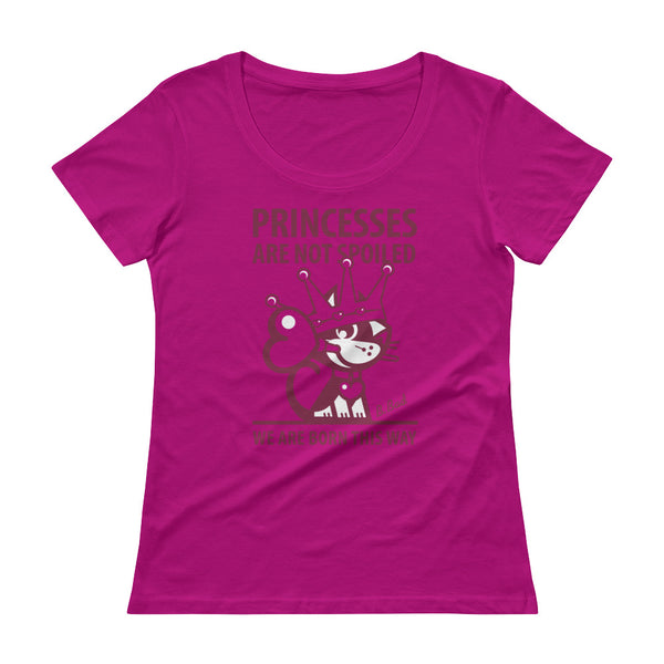 Princess . Raspberry Print . Women's T-Shirt
